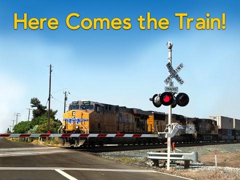 Here Comes the Train!