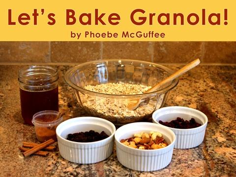 Let's Bake Granola