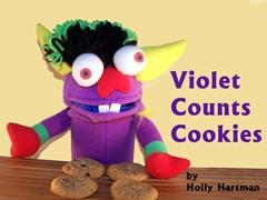 Violet Counts Cookies