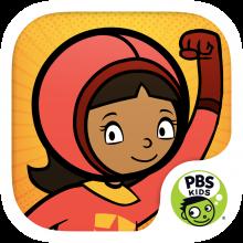 Word Girl Superhero App logo