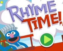 Sesame Street Grover Rhyme Time Screenshot