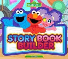 Sesame Street Story Book Maker Game Screenshot