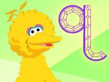 Big Bird's Alphabet Track